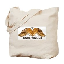 Cuttlefish Love Tote Bag