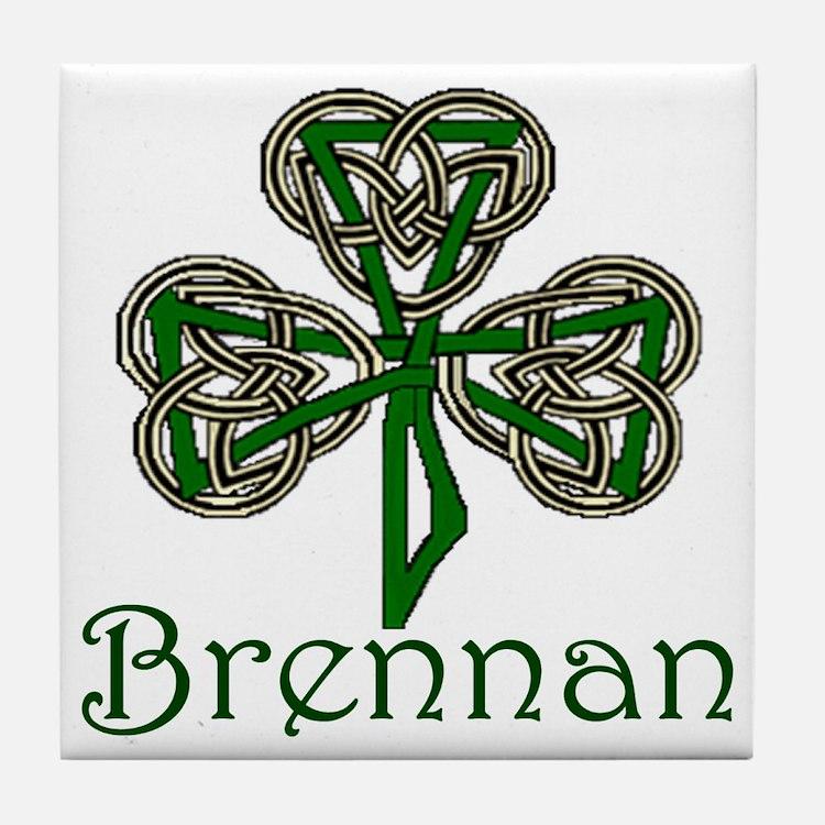 Brennan Shamrock Tile Coaster