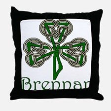Brennan Shamrock Throw Pillow