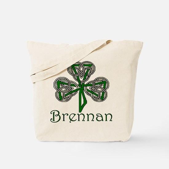 Brennan Shamrock Tote Bag