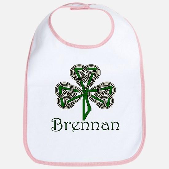Brennan Shamrock Bib