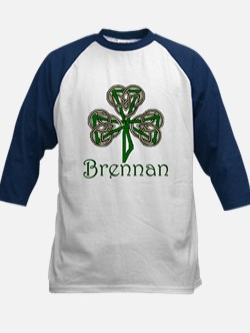 Brennan Shamrock Kids Baseball Jersey