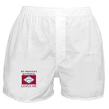 My Arkansas Boyfriend Loves Me Boxer Shorts