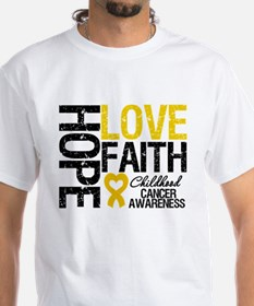 Childhood Cancer Faith Shirt