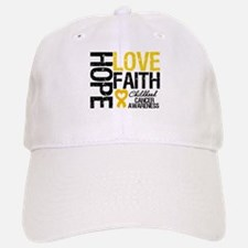 Childhood Cancer Faith Baseball Baseball Cap