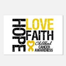 Childhood Cancer Faith Postcards (Package of 8)