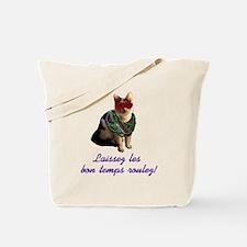 Mardi Gras Cat Tote Bag