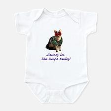 Mardi Gras Cat Infant Bodysuit