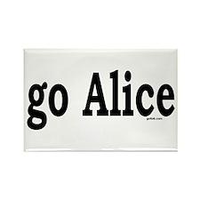 go Alice Rectangle Magnet