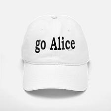 go Alice Baseball Baseball Cap