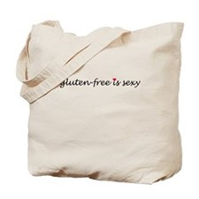 gluten-free is sexy Tote Bag