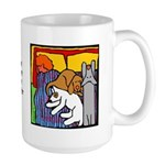 Dogs: More the Furrier Large Mug