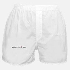 gluten-free is sexy Boxer Shorts