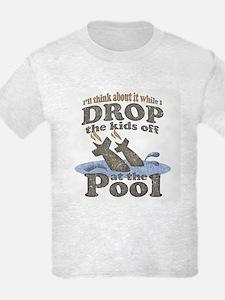 Drop the Kids Off T-Shirt