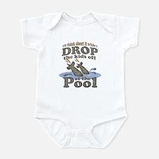 Drop the Kids Off Infant Bodysuit