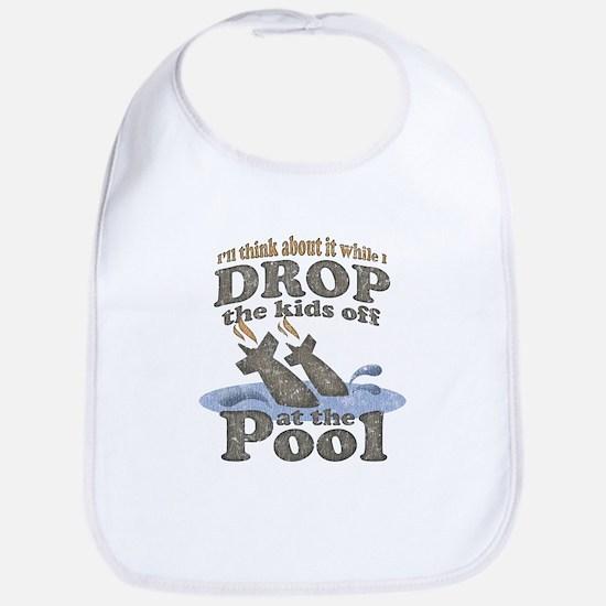 Drop the Kids Off Bib