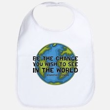 Gandhi - Earth - Change Bib