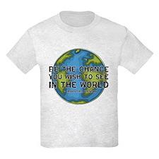 Gandhi - Earth - Change T-Shirt