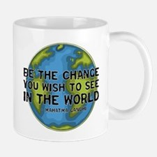 Gandhi - Earth - Change Mug