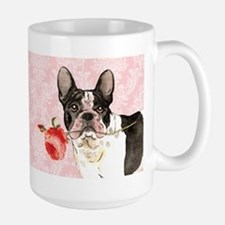 French Bulldog Rose Large Mug