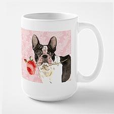 French Bulldog Rose Mug