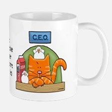 CEO, Cat Executive Officer Mug
