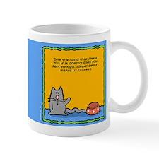 Cranky Cat Dependency Mug