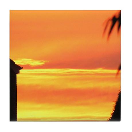Sunset / Sunrise Tile Coaster