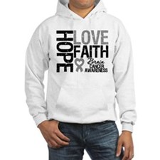 Brain Cancer Faith Jumper Hoody