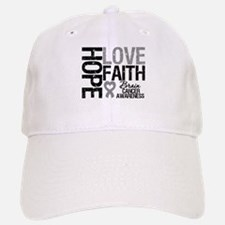 Brain Cancer Faith Baseball Baseball Cap