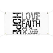 Brain Cancer Faith Banner