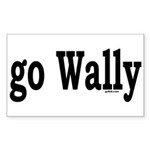 go Wally Rectangle Sticker