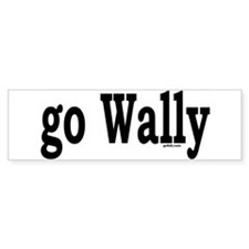 go Wally Bumper Bumper Sticker
