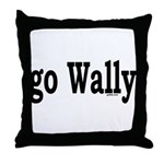 go Wally Throw Pillow