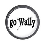 go Wally Wall Clock
