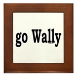 go Wally Framed Tile