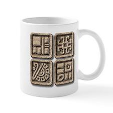 Mayan Glyphs-stone Mug