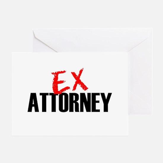 Ex Attorney Greeting Card