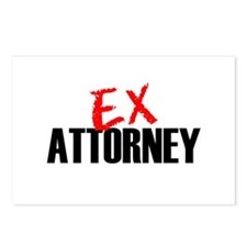 Ex Attorney Postcards (Package of 8)