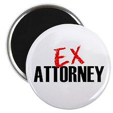 "Ex Attorney 2.25"" Magnet (100 pack)"
