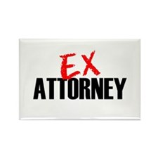 Ex Attorney Rectangle Magnet
