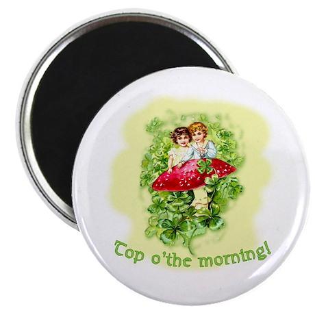 Top O'the Morning Vintage Irish Magnet
