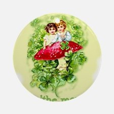 Top O'the Morning Vintage Irish Ornament (Round)