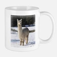 Alpaca In the Snow Mug