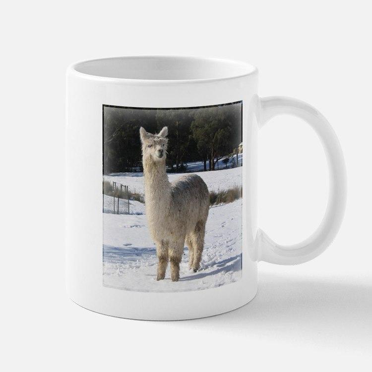 Alpaca In the Snow Mug