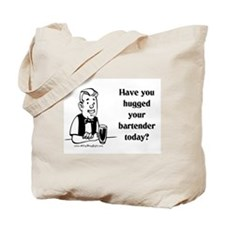 Bartender Hug Tote Bag