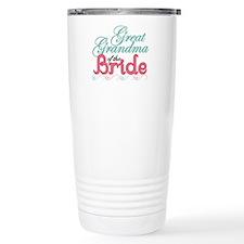 Great Grandma of the Bride Travel Mug