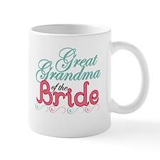 Great Grandma of the Bride Mug