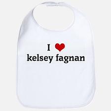 I Love kelsey fagnan Bib