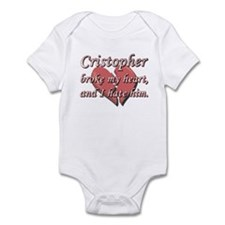 Cristopher broke my heart and I hate him Infant Bo